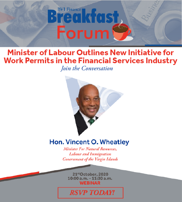 Minister Vincent Wheatley Outlines Work Permit Initiative for Financial Services Industry